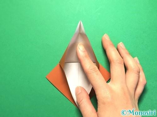 折り紙でから傘お化けの折り方手順13