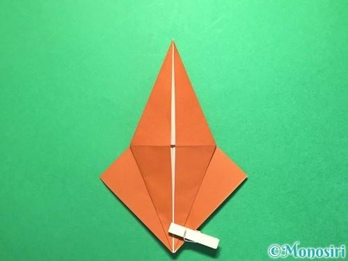 折り紙でから傘お化けの折り方手順14