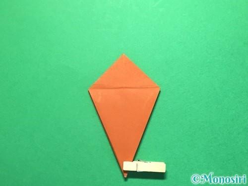 折り紙でから傘お化けの折り方手順18