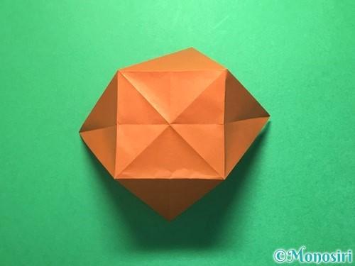 折り紙でから傘お化けの折り方手順21