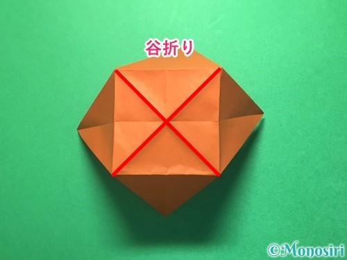 折り紙でから傘お化けの折り方手順22