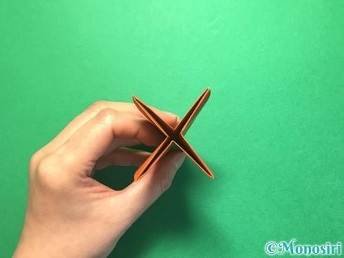 折り紙でから傘お化けの折り方手順23