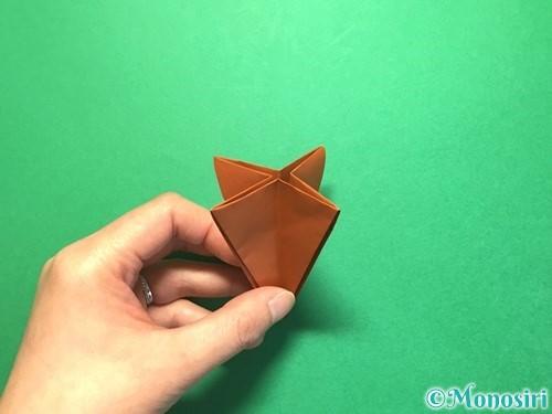 折り紙でから傘お化けの折り方手順24