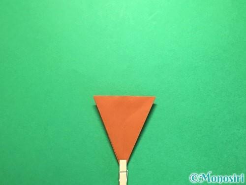 折り紙でから傘お化けの折り方手順25
