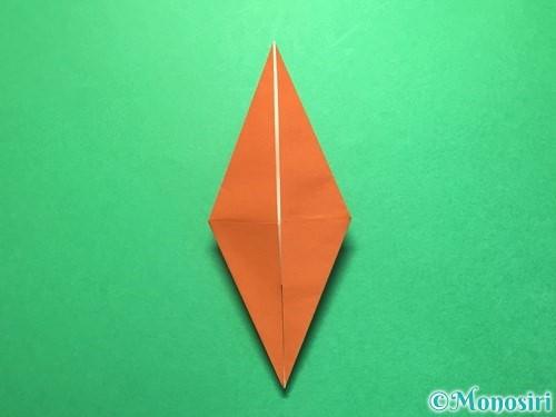 折り紙でから傘お化けの折り方手順27
