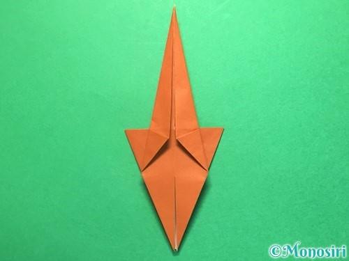 折り紙でから傘お化けの折り方手順29