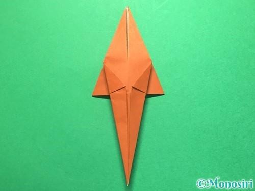 折り紙でから傘お化けの折り方手順30