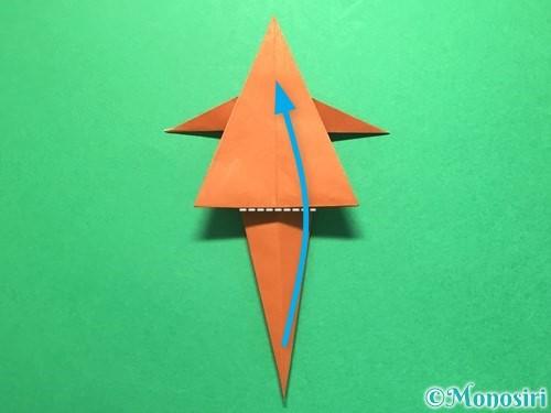 折り紙でから傘お化けの折り方手順39
