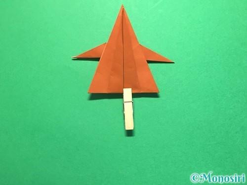 折り紙でから傘お化けの折り方手順40
