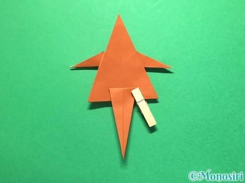 折り紙でから傘お化けの折り方手順42