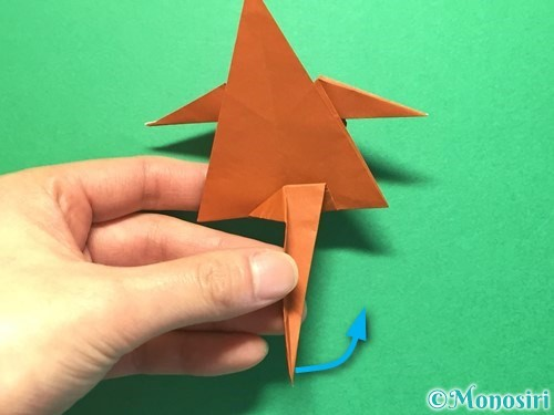 折り紙でから傘お化けの折り方手順50