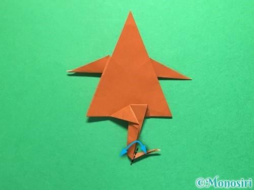 折り紙でから傘お化けの折り方手順52