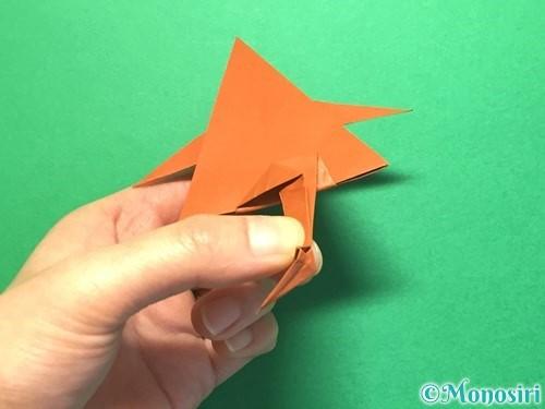 折り紙でから傘お化けの折り方手順56