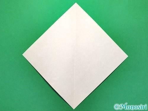 折り紙で花火の作り方手順2