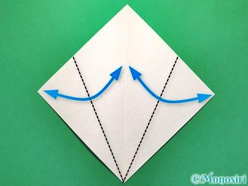 折り紙で花火の作り方手順3