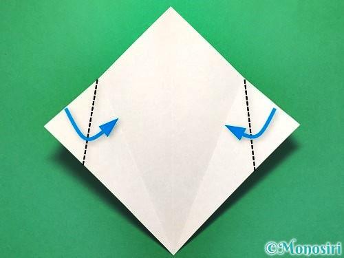 折り紙で花火の作り方手順5