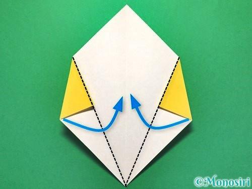 折り紙で花火の作り方手順7