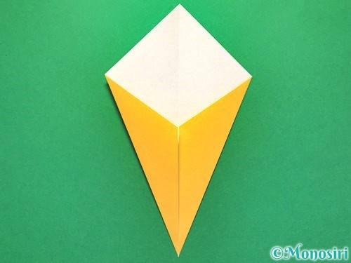 折り紙で花火の作り方手順8