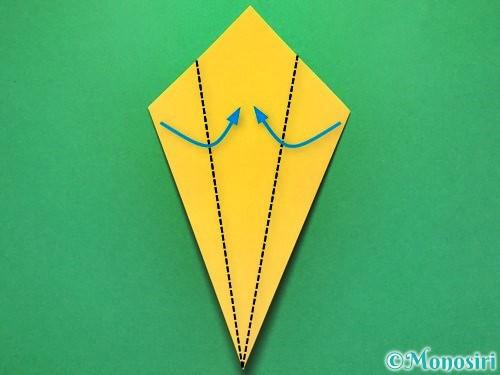 折り紙で花火の作り方手順10