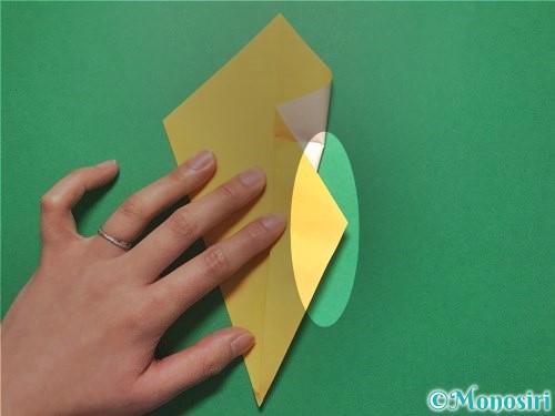 折り紙で花火の作り方手順11