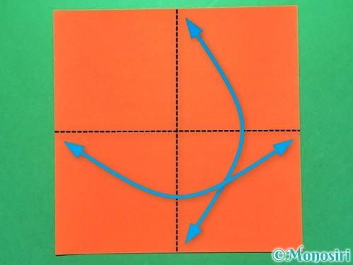 折り紙で花火の作り方手順14