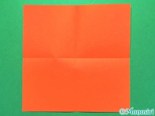 折り紙で花火の作り方手順15