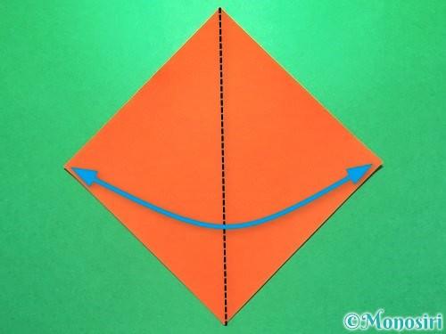 折り紙で花火の作り方手順17