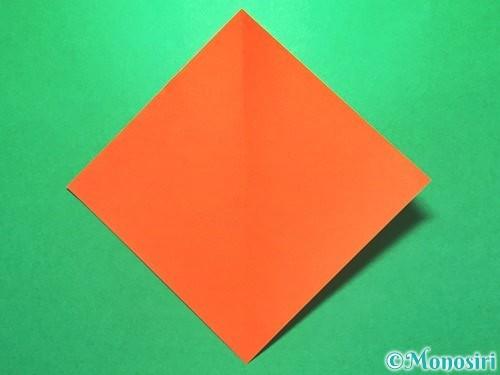 折り紙で花火の作り方手順18