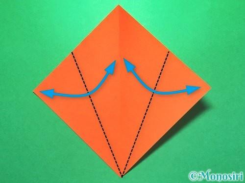 折り紙で花火の作り方手順19