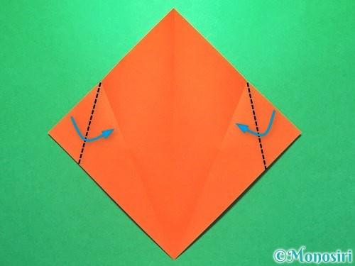 折り紙で花火の作り方手順21