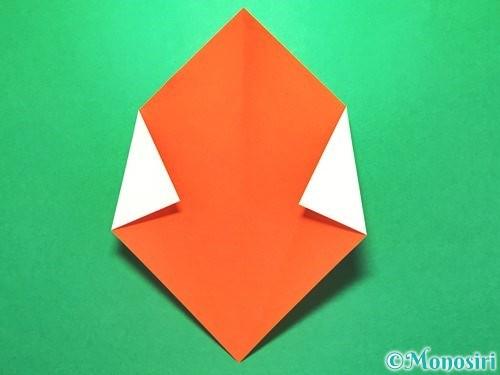 折り紙で花火の作り方手順22