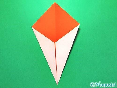 折り紙で花火の作り方手順24