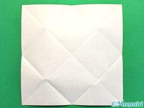 折り紙で立体的な花火の作り方手順4