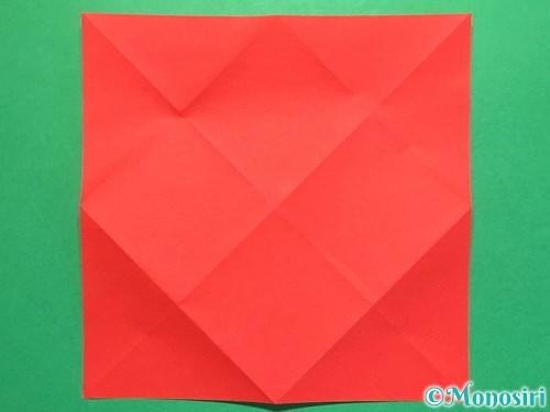 折り紙で立体的な花火の作り方手順5