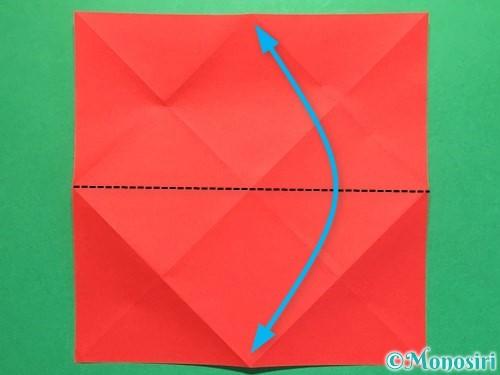 折り紙で立体的な花火の作り方手順6