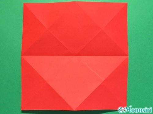 折り紙で立体的な花火の作り方手順7