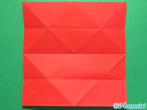 折り紙で立体的な花火の作り方手順9