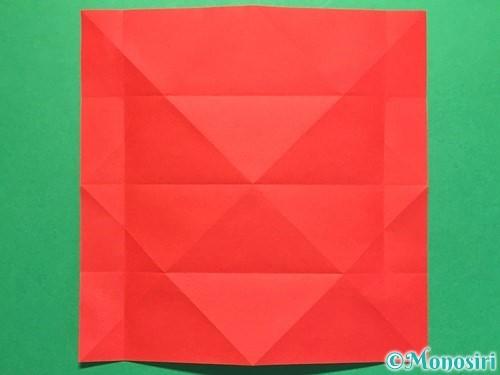折り紙で立体的な花火の作り方手順11