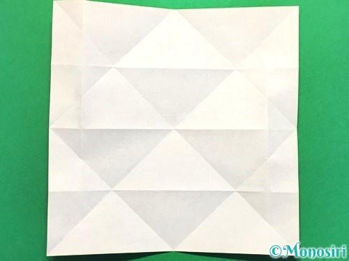 折り紙で立体的な花火の作り方手順12