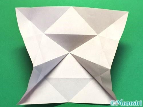 折り紙で立体的な花火の作り方手順13