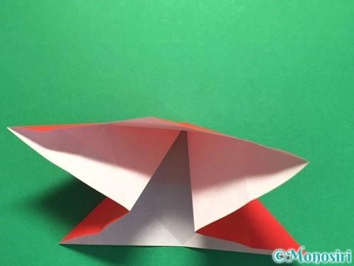 折り紙で立体的な花火の作り方手順14