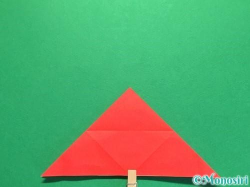 折り紙で立体的な花火の作り方手順15