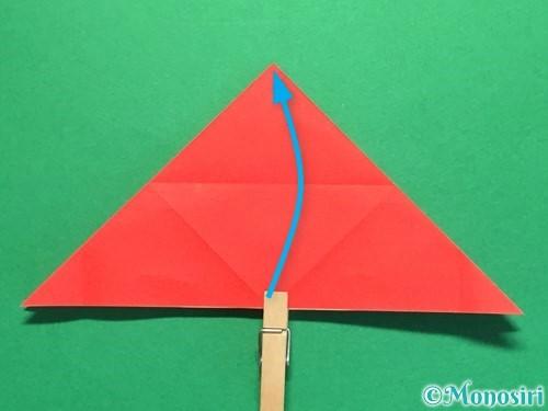 折り紙で立体的な花火の作り方手順16
