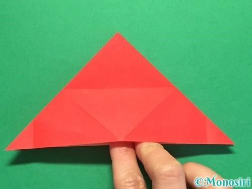 折り紙で立体的な花火の作り方手順17