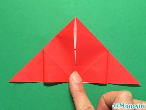 折り紙で立体的な花火の作り方手順19