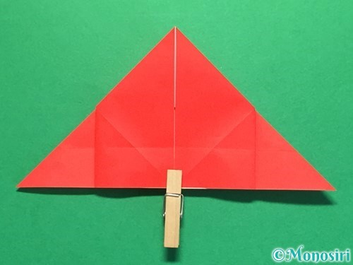折り紙で立体的な花火の作り方手順20
