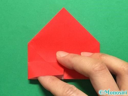 折り紙で立体的な花火の作り方手順23