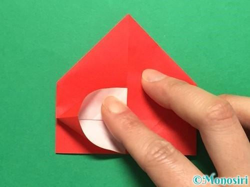 折り紙で立体的な花火の作り方手順24