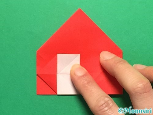 折り紙で立体的な花火の作り方手順25