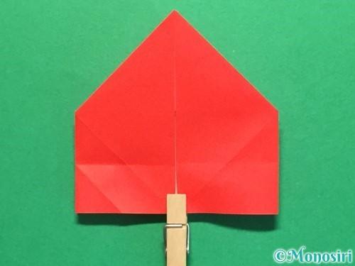 折り紙で立体的な花火の作り方手順26